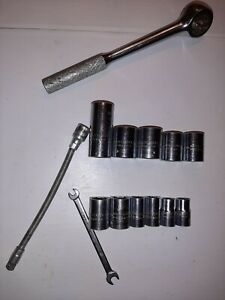Proto Ratchet 3 8 Drive 6 6 Pt 5 12 Pt Open End 3 16 1 4 Flex Ext