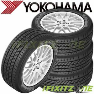4 Yokohama Avid Ascend Gt 195 65r15 91h Sl All season a s Tires