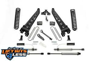Fabtech K2291dl 4 Radius Arm Lift Kit W Front Dirt Logic For 2017 20 Ford F 250