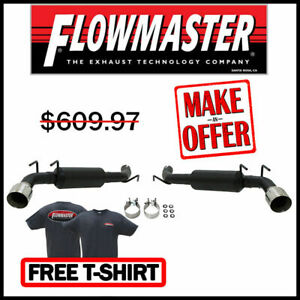 Flowmaster 3 Outlaw Axle back Exhaust Kit 2014 2015 Chevrolet Camaro Ss 6 2l