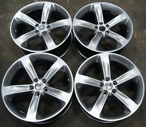 Dodge Challenger Charger Rwd Factory Oem 20 Wheels Rims 15 19 2508 1959