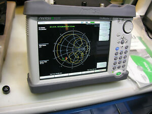 Anritsu S331e Sitemaster W option 021 2 ports Loaded W accessories see Photos
