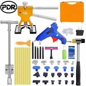 Pdr Tools Car Paintless Hail Dent Slide Hammer Puller Lifter Removal T bar Kits