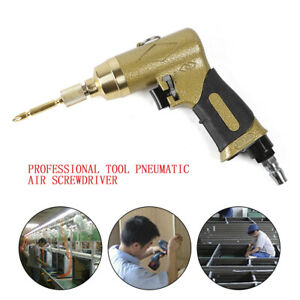 Pneumatic Air Screwdriver Gun Screw Driver Screw Nuts Tool 8000rpm High speed