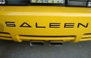 Rear Decal Bumper Letters For Ford Mustang Saleen 2005 2009