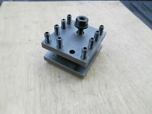 Machinist 3 Way Tool Post Fits South Bend Lathe 9