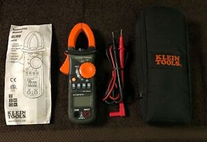 Klein Cl100 Ac Clamp Meter 600a W soft Sided Case