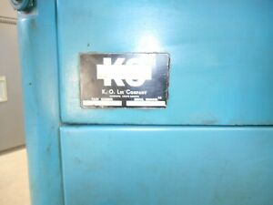 K o Lee Long Bed Tool And Cutter Grinder B2060 W Tooling