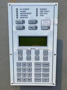Est Edwards 2 lcd Fire Alarm Lcd Display Used Verified Working