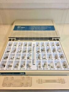New Temporary Dental Crowns Full Box 80 3m Ion Iso Silver Bicuspid Schein 475 2