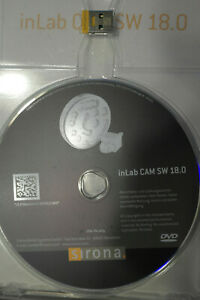 Inlab 18 0 Cam Software With Licence Sirona Cerec 18 In Lab