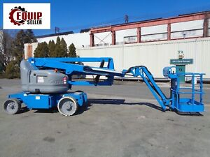 2007 Genie Z40 23nrj Electric Articulated Boom Man Aerial Lift 40ft Height