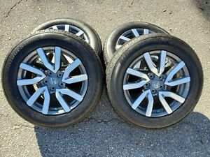 18 Honda 2019 Pilot Wheels Tires Ridgeline Oem Elite Gray 2018 2020 63148a Rims