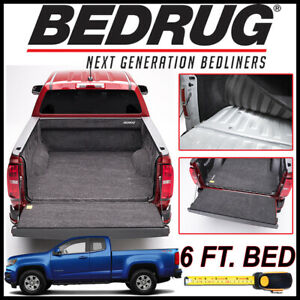 Bedrug Custom Fit Truck Bed Liner Mat For 2015 2020 Chevy Colorado 6 Ft Bed