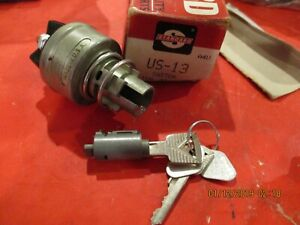 Ford Lincoln Mercury 1952 1966 New Ignition Switch With Key Cylinder
