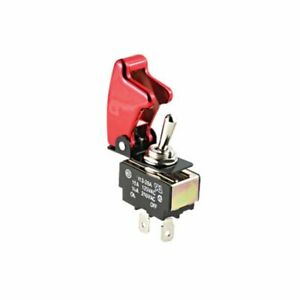 Pilot Automotive Red On off Safety Cover Toggle Switch Extension Pl sw26r