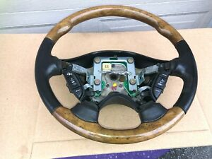 2000 2008 Jaguar S Type Steering Wheel With Cruise And Audio Cntrl Xr83 3f563 Fc