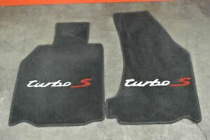 Porsche 997 911 Turbo S Front Floor Mat Carpet Signed By Kelly Collins Racer