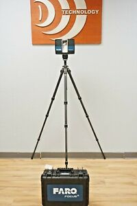 Faro S350 3d Laser Scanner 1 Mil Points Robotic 2017 Calibrated Warranty S 350