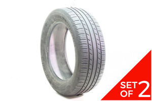 Set Of 2 Used 205 55r16 Michelin Premier As 91h 6 32
