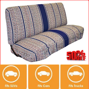 Baja Saddle Blanket Bench Full Size Seat Cover Fits Ford Chevrolet Dodge Truck