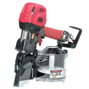 Max Usa Hn91062 Hn90f 1 3 4 X 3 1 2 Powerlite Pneumatic Coil Framing Nailer