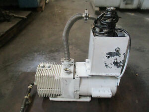 Alcatel Pascal 2005 Sd Rotary Vane Vacuum Pump With A Motor_powers Up_deal_