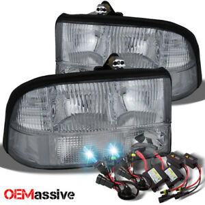 Fit 98 04 Gmc Sonoma Jimmy Oldsmobile Bravada Headlights Ballast 8k Hid