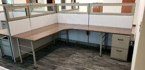 Modern Office For A Great Price Steelcase Kick 6x4 6x8 Cubicles