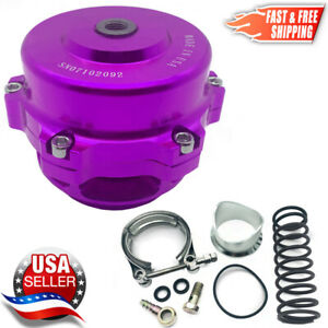Tial Style Bov 50mm Billet Blow Off Valve Version 1 Purple 2 3 Day Delivery Usa