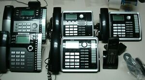 Rca Visys 4 Line Telephone System 6 Phones 25260 25204 H5401 25424 Rei