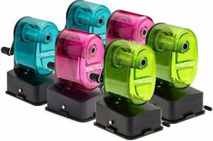 X acto Bulldog Vacuum Mount Manual Pencil Sharpener Assorted Colors