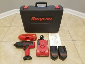 Snap on Ct6850 18v 1 2 Impact Wrench Set Excellent Condition Like New