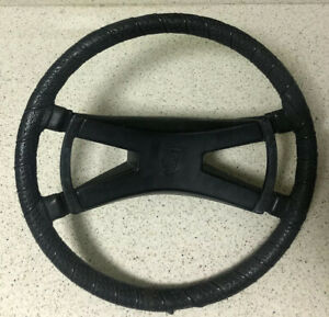 Porsche 914 4 1972 76 Factory Vdm Hard Rubber Ebonite Shaped Steering Wheel 2