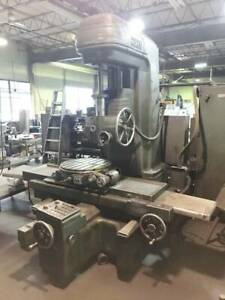 Fosdick Model 44 Jig Bore Boring Machine With 30 Powered Table