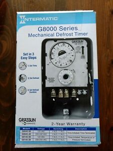 Intermatic Mechanical Defrost Timer G8000 Series