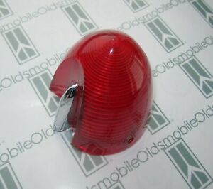 1955 Oldsmobile 98 Tail Light Lens Correct Guide R3a 55 Imprint Correct Color