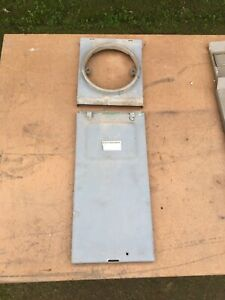 Zinsco Panel Dead Front Cover For 100 Or 125 Amp Gte Sylvania Nice