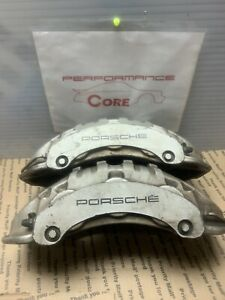 Porsche Cayenne Rh Lh Front Right Left Brembo Calipers Brakes Six Piston