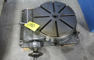 Sip 17 1 2 Precision Rotary Table
