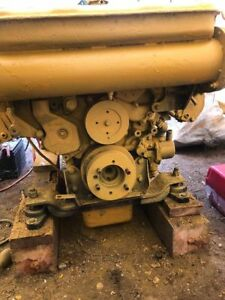 Caterpillar Cat 3208 210 Hp Marine Diesel Engine Twin Disc 506 2 1