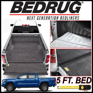 Bedrug Custom Fit Bed Liner Mat Fits 2005 2020 Toyota Tacoma With 5 Ft Bed