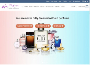 Ready Made Drop Shipping Website Free Hosting Set Up Perfume Stores