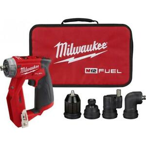 Milwaukee 2505 20 M12 Fuel 12v 4 in 1 Installation Drill driver bare Tool