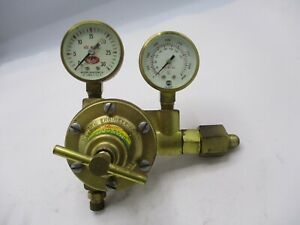 New Meco Modern Engineering P 1 l Oxygen Regulator W gauges
