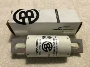 1 Pc Bussmann Fwp 200a 700v 200 Amp Fast Acting Semiconductor Fuse New New New