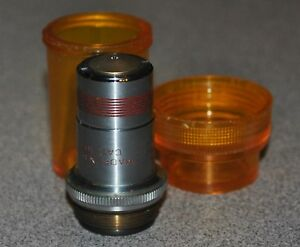 Spencer Ao American Optical 100x N a 1 25 Objective Lens Oil 1mm Infinity