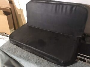 Willys Jeep Cj2a Cj3a Rear Seat Cover Complete Never Installed Foamed Filled