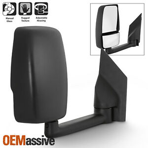 Fits 2003 2017 Chevy Express Gmc Savana Right Passenger One Side Towing Mirror