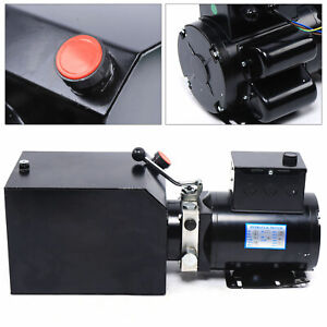 Car Lift Hydraulic Power Unit 3 5 Gal Tank 220v For Rotary And Automobile Lifts